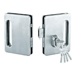 Kunci Sliding Pintu Kaca Double Glass Sliding Lock SGL 8601
