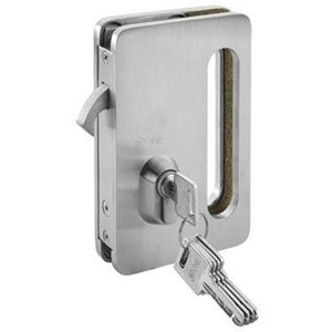 Kunci Sliding Pintu Kaca Single Glass Sliding Lock