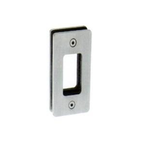 Handle Pintu Kaca Tanam Stainless Kotak Stainless Square Glass Sliding Door Flush Pull Plate Handle