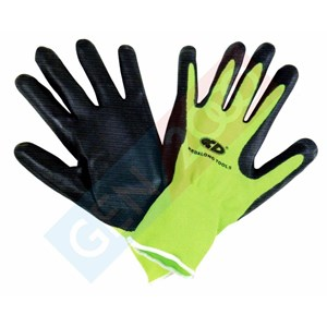 Sarung Tangan Safety Alas Karet Anti Slip Rubber Gloves For Lifting Glass and Other Material
