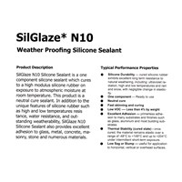Beli Silicone Sealant Neutral Sausage Glue Pack Glazing N10 Lem Silicone Sealant Netral Sosis 600 ml Lem Sealent Sosis GLazingN10 4