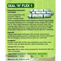 Jual Lem Sealant Sosis Bostik Seal N Flex Polyurethane Construction Silicone Sealant Sausage Pack  2