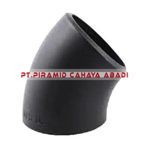 Dari Elbow Carbon Steel Long Radius 45 Derajat 0