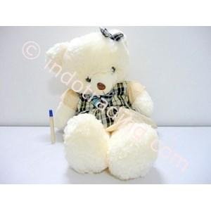 Jual Boneka Beruang Krem Baju Kotak Harga Murah Solo oleh Sumba Toys 9ea96e5b77