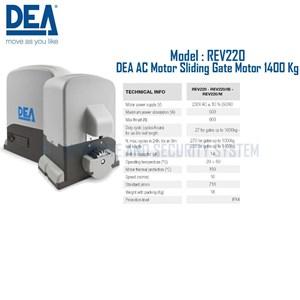 Dari Pintu Otomatis DEA Sliding Gate AC Motor REV220 1400 Kg 0