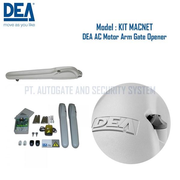 Pembuka Gerbang Otomatis  Swing Gate DEA Italy KIT MACNET