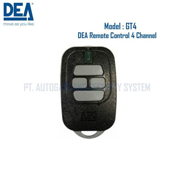 Perlengkapan Gerbang Otomatis DEA GT4 4 Channel Remote Control