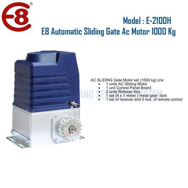 Pintu Pagar Otomatis Sliding Gate 1000 Kg Merk E8 Automatic