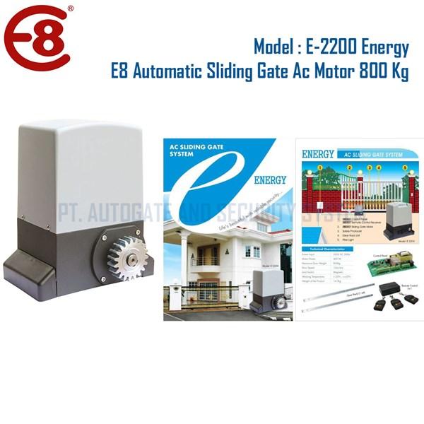 Pintu Pagar Otomatis Sliding Gate ENERGY 800 Kg Merk E8 Automatic
