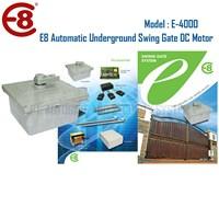 Pintu Pagar Otomatis Swing Gate Underground DC Motor Merk E8