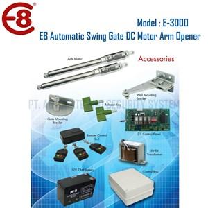 Dari Pintu Pagar Otomatis Swing Gate Arm Opener Merk E8 1