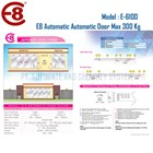 Penutup Pintu Otomatis Automatic Door Autodoor E8 Type E6100 300 Kg  3