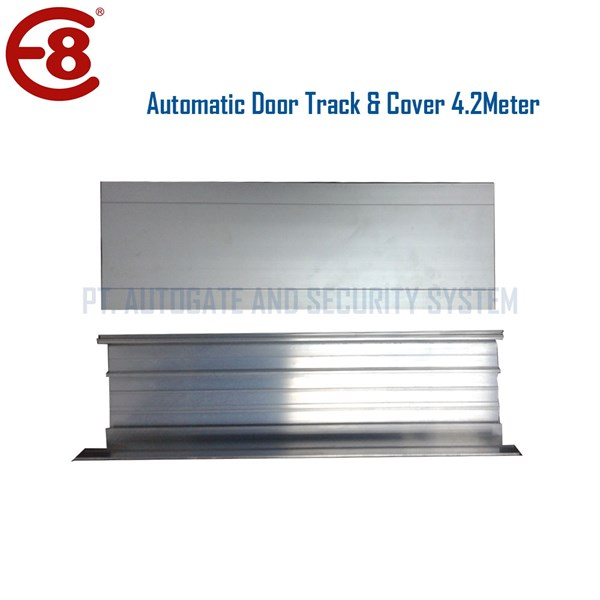 Penutup Pintu Otomatis Aluminium Track 4.2 Meter untuk Autodoor