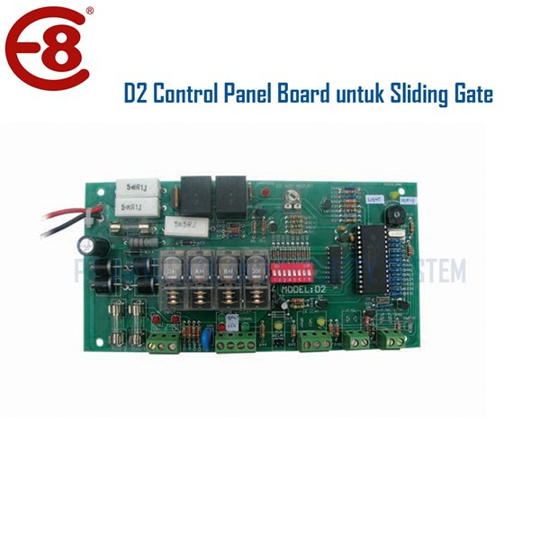 Penutup Pintu Otomatis PCB Control Board D2 Original untuk DC Motor