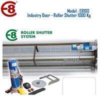Pintu Industri Rolling Door Otomatis Roller Shutter Kapasitas 1000 Kg 1