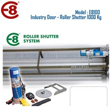 Pintu Industri Rolling Door Otomatis Roller Shutter Kapasitas 1000 Kg