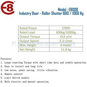 From Pintu Industri Rolling Door Otomatis Roller Shutter Kapasitas 1000 Kg 1