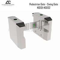 Swing Barrier Pedestrian Gate Model Swing Gate NSE01-NSE02