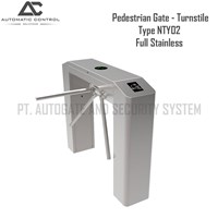 Gate Operator Pedestrian Gate Turnstile NTY02 Full Stainless