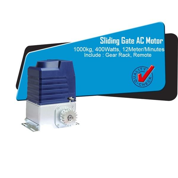 Sliding Gate AC Kapasitas 1000 KG Silver Blue