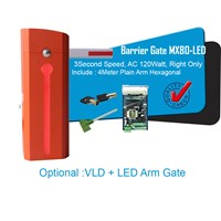 MX80 Barrier Gate Supplier 3 Second