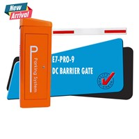 Palang Parkir Barrier Gate DC Motor Heavy Duty Pro-9 Cepat Anti Panas