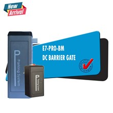 Palang Parkir Barrier Gate DC Brushless Motor Heav