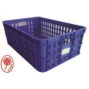 Keranjang Industri Multi fungsi kecil bolong YTH 19 warna biru