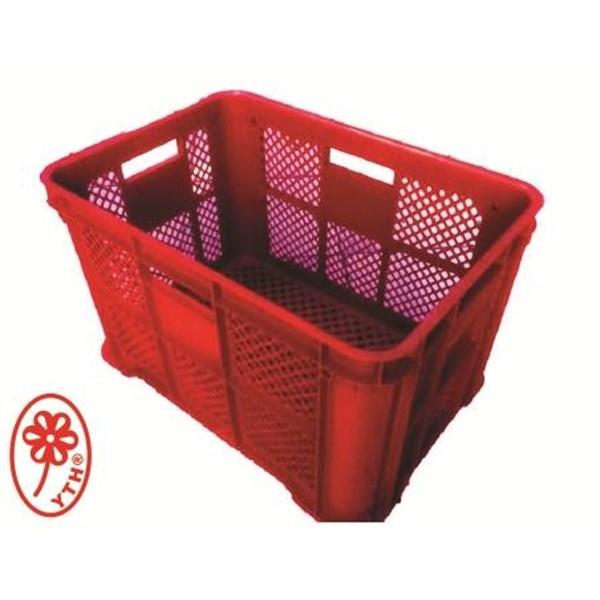 Keranjang Industri Multi fungsi keranjang ikan teri YTH 62 warna merah
