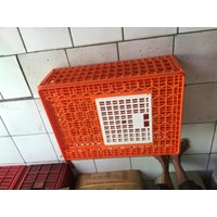Jual Keranjang Ayam Kecil YTH 61 warna orange Original- keranjang plastik 2