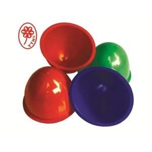 Mangkok karet YTH 28 YTH 27 warna biru hijau merah