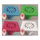 Saringan air YTH 41 warna putih biru muda ivory pink hijau 1