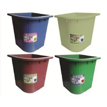 Bath tubs of plain colors 73 DESIGNATION blue maroon green ivory size 80 litres