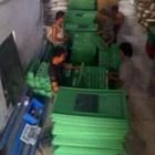 Keranjang plastik-Keranjang Ayam Jumbo YTH-42 Proses Hijau ( Grade Biasa ) k 3