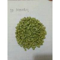 Jual biji plastik gilingan PP hijau mounty 2