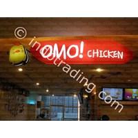 Acrylic Box Omo Chicken By Andalan Advertising