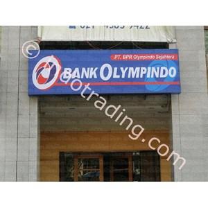 Neon Box Bank BPR Olympindo Sejahtera By Andalan Advertising