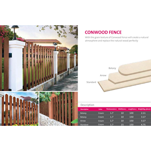 Conwood Fence