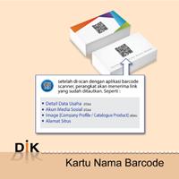 Jual Kartu Nama Barcode
