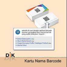 Kartu Nama Barcode