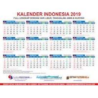 Cetak Kalender 2019 perusahaan