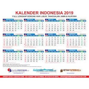 Jual Cetak Kalender 2019 perusahaan Harga Murah Jakarta ...