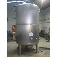 Tangki Stainless - Custom Volume Stainless Steel Hot Water Storage Tank