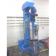 Mixer 5 hp manual lifting