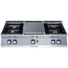 ELECTROLUX 700XP Gas Solid Top with 4 Burners