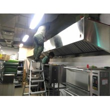 Exhaust Hood Island Stainless Steel