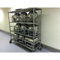 Rack 3 Tiers Solid Stainless Steel