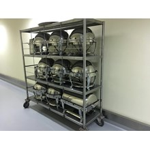 Rack 3 Tiers Solid Stainless Steel
