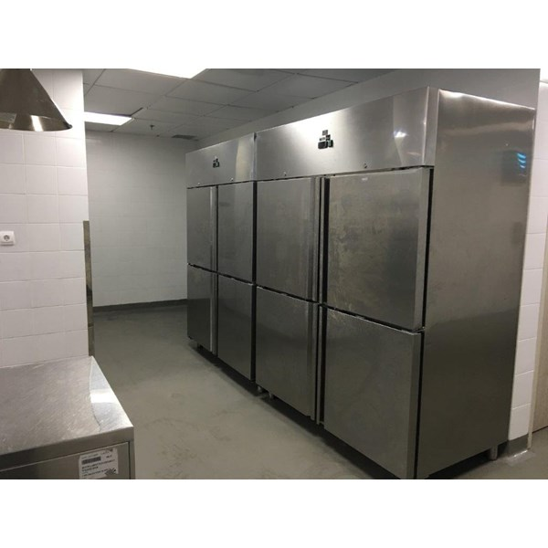 Upgriht Cabinet Stainless Steel