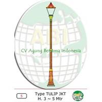 Tiang Antik Type Tulip JKT